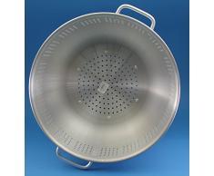 Küchensieb Salatseiher Salatsieb Sieb ALU Nudelsieb Standsieb Ø 42 cm Aluminium