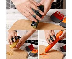 DWQuee ❤️ Küchenhelfer Gemüseschäler, Doppelschneider Obstschäler Griffe gut zum Schälen von Kartoffel-Karotten-Gurken