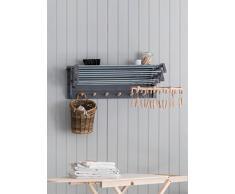 Garden Trading Wandwäschetrockner, ausziehbar in Anthrazit – Birke