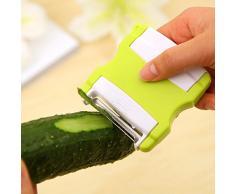 YOKIRIN Professioneller Obst- und Gemüseschäler Apfelschäler Kartoffelschäle Peeler Küche Werkzeug(Zufällige Farbe)