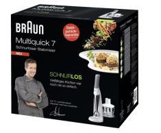 BRAUN MR 730 cc Multiquick 7 - kabelloser Premium-Stabmixer
