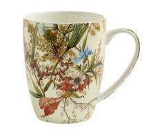 Maxwell & Williams Kilburn Kaffeebecher, Porzellan, Mehrfarbig, 12 x 8,5 x 10