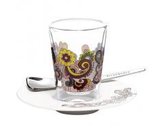 Ritzenhoff 2600005 Espressoglas mit Untertasse Ladeiro F11