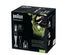 Braun MQ 725 Omelette Multiquick 7 Stabmixer, edelstahl, 750 Watt, schwarz