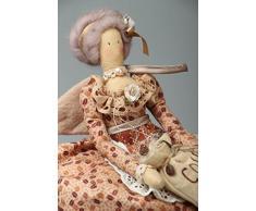 Teekannenwärmer aus Stoff Puppe