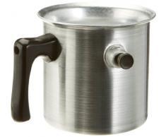 Testrut 220550 Wasserbadkocher 1 Liter Alu geschliffen