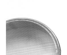 Tailcas® 60 Mesh Profession Edelstahl Küche Werkzeug Sugar Zucker Cocoa Mehl sieb Nahrung Schmutzfänger Sieb Sieve Mehlsieb Rundsieb Küchensieb Handsieb für Pasta, Noodles, Sieve Mehl