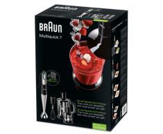 Braun MQ 745 Aperitive 7 Stabmixer (750 Watt, 0,6 Liter, Multiquick) schwarz