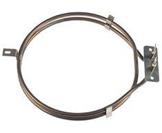 Hupfer Heizkörper für Tellerwärmer TEUH-1/VS19-26, TEUH-2/VS19-26 für Umluft 1500W 230V Länge 225mm Höhe 31mm Aussen 202mm