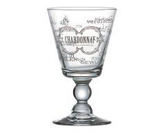 Ritzenhoff & Breker Flirt Weißweinkelch, Brunello, Weinglas, Weinkelch, Wein, Glas, Kelch, 220 ml, 157239