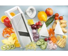 G S D Haushaltsgeräte 30 001 Universal-Gemüsehobel mit 5 Einsätzen