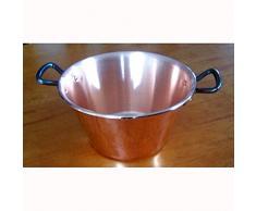 Baumalu - 207020 - Kupfer Jelly Pfanne 26,5 cm - 4 Liter
