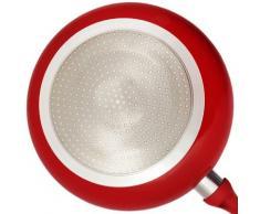 JOLTA® / Schäfer 7 tlg Topfset Keramik Besichtigung Kochtopfset Kochtopf Set Pfanne Topf (Violet)