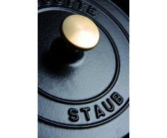 Staub 40500-111-0 Mini Cocotte, Gusseisen, schwarz, 11 cm