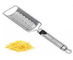 Edelstahl Parmesanreibe - Käsereibe - Feinreibe - Käse Reibe - Hobel - Gemüsereibe - Raspel - Parmesan - Küchenreibe - Handreibe