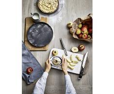 WMF Gourmet Birnen- und Apfelschneider Edelstahl Ø 9 cm, Obstschneider ideal für Äpfel und Birnen, Cromargan Edelstahl