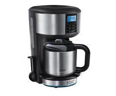 Russell Hobbs Frühstück-Set 4-tlg. Kaffeemaschine + Wasserkocher + Toaster + Eierkocher