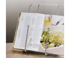Kochbuchhalter METALL Kochbuch Buch Halter St�tze, 851293