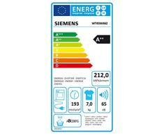 Siemens iQ500 Wärmepumpentrockner WT45W462 / 7,00 kg / A++ / 212 kWh / Blusen/Hemden / Wolle finish Programm / Outdoor Programm