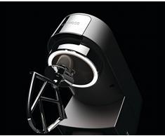 Kenwood Chef Titanium KVC7320S - leistungsstarke Küchenmaschine, 4,6 l Rührschüssel mit Innenbeleuchtung, Easy-Lift & Interlock-Sicherheitssystem, 1500 Watt, inkl. 5-teiligem Patisserie-Set, silber
