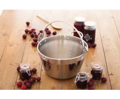 Kitchen Craft Mini-Einkochtopf, 4,5 l, für Indukionskochfelder, aus der Home-Made-Produktreihe