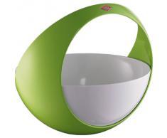 Wesco 223 301-20 Spacy Basket Obstkorb, limonenGrün(grün / weiß)