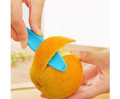 Generic Hot 1 PC Kochen Kunststoff Sicherheit Tragbare Obst Gemüse Schäler Kiwi orange Cutter Gerät Tools