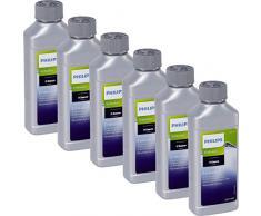 6x Saeco CA6701/00 Flüssig-Entkalker für Kaffeevollautomaten (Espressomaschine, Padmaschinen) 250 ml