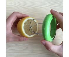 Wuudi Kiwi Schäler 2-in-1 Kiwi Schneider Kreative Obstkern-Bagger Obstschneider Werkzeuge