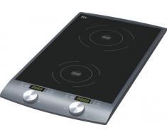 ECG IV 29 2-in-1 Induktionskochplatte, 2900 W, 10 Heizstufen, Temperatur 60-240 °C, Zeitkontroll 1-180 min, Schwarz