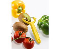 Victorinox Tomaten-Kiwischäler gelb mit Rostfreier Zackenschliffklinge, 7.6079.8