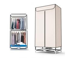 Elektrische Trockner Hause wasserdicht stehend Edelstahlrohr Oxford Tuch 850W schnelle Wäschetrockner kleine Garderobe, kann 180 Minuten Sein