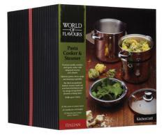 Kitchen Craft Italian Collection Nudel-/Pastatopf aus Edelstahl mit Dampfeinsatz, 20Â cm