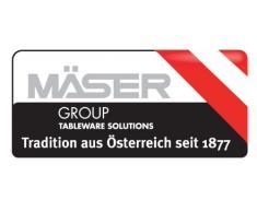 Domestic by Mäser, Serie Shiny, Besteckgarnitur 24-teilig, in der Farbe Gelb
