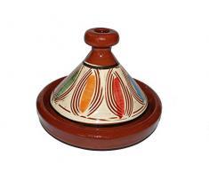 Marokkanische Tajine zum Kochen/Servieren Ø 20 cm für 1 Person