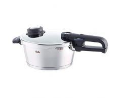Fissler vitavit premium / Induktions-Schnellkochtopf (3,5L - Ø 22 cm) Edelstahl-Dampfkochtopf, 2 Garstufen, stapelbar, alle Herdarten