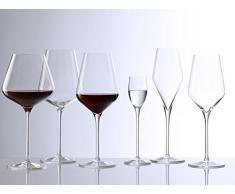 Stölzle Lausitz 231 00 03 Quatrophil Weißweinglas 404 ml, 6-er Set