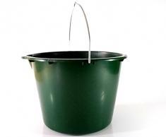 5 Stück 20 L Stalleimer Putzeimer Wassereimer Futtereimer mit Skala -sehr stabil