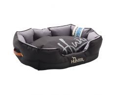 Hunter Hundesofa Grimstad schwarz, Größe: L