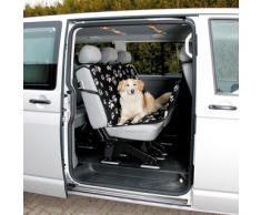 Trixie Auto-Schondecke schwarz/beige, Maße: 1,40 x 1,45 m