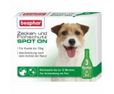Beaphar Zecken- und Flohschutz SPOT-ON 3x1 ml für kleine Hunde