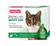 Beaphar Zecken- und Flohschutz SPOT-ON 3 x 0,8 ml