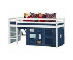 Hoppekids Vorhang Creator Orion Blue für Spielbett oder Etagenbett 90x200cm