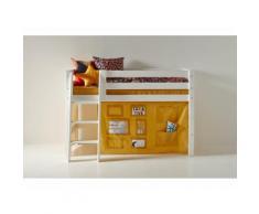 Hoppekids Vorhang Creator Autumn Yellow für Spielbett oder Etagenbett 70x160cm