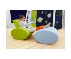 HOPPEKIDS Space Sessel Ellipse Hellblau Kindersessel 36-4360-LB-000
