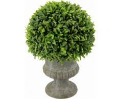 Kunstpflanze »Grashalbkugel in Pokal 25 cm« grün, yourhome