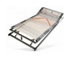 Lattenrost, bis 130 kg, Kopf- und Fußteil verstellbar, 7 Zonen, 90x200cm, »TopSleep«, Matraflex