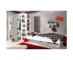 Jugendzimmer-Set »Joker« grau, mit Schubkästen, Wimex