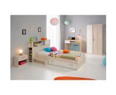 Jugendzimmer-Set beige, Set mit 2-türigem Kleiderschrank, »Charly«, Parisot
