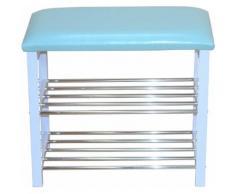 Schuhbank blau, strapazierfähig, pflegeleichte Oberfläche, yourhome